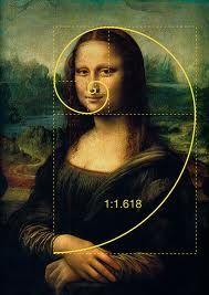 Mona Lisa - gulden snede