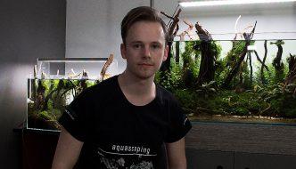 """Aquarium inspiratie: """"Enchanted Forest"""" van Nigel Hoevenaar"""